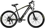CNRRT G2 26 Pulgadas Bicicleta de montaña 350W 48V 9.6Ah batería de Litio Pedal de la Bicicleta de Asistencia eléctrica 5 Tenedor con Llave (Size : 9.6Ah)