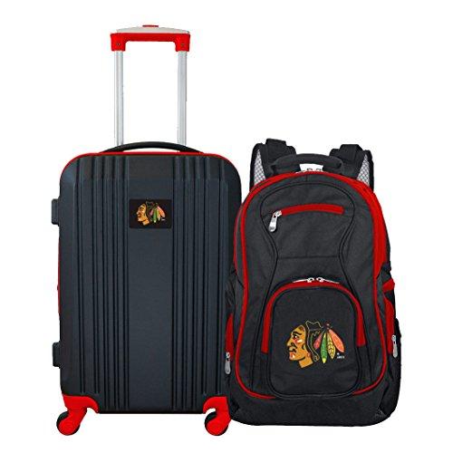 NHL Chicago Blackhawks 2-Piece Luggage Set