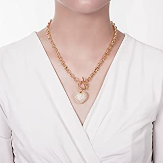اسعار BERRICLE الذهب مطلي قاعدة معدنية القلب تبديل