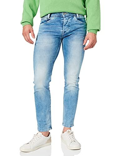 Pepe Jeans Spike Jeans, Azul (11oz Vintage 8 Dip), 29W / 34L para Hombre