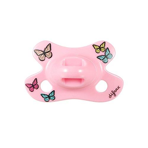 Difrax 796B03 - Chupete dental para bebés niñas