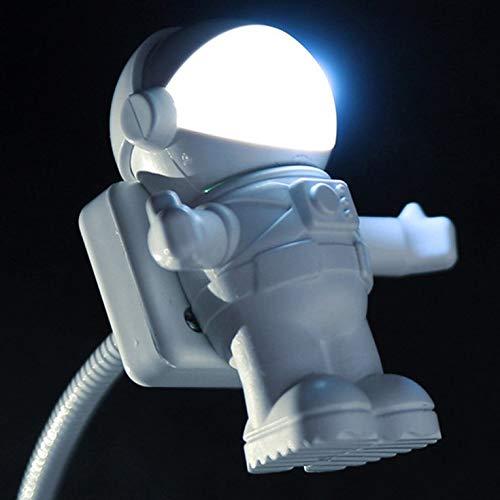 #N/V Astronaut Luces de Noche Led Astros Usb Luces de Noche Lámparas de Mesa de Computadora