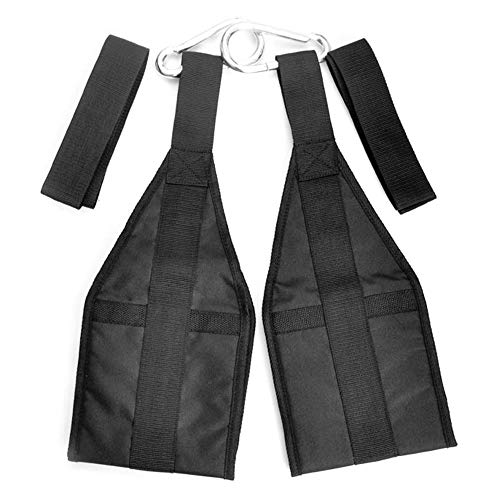 YUYDYU Klimmzuggriffe mit Griff, Klimmzug - Klimmzugstange für Bauchmuskeln drinnen/draußen