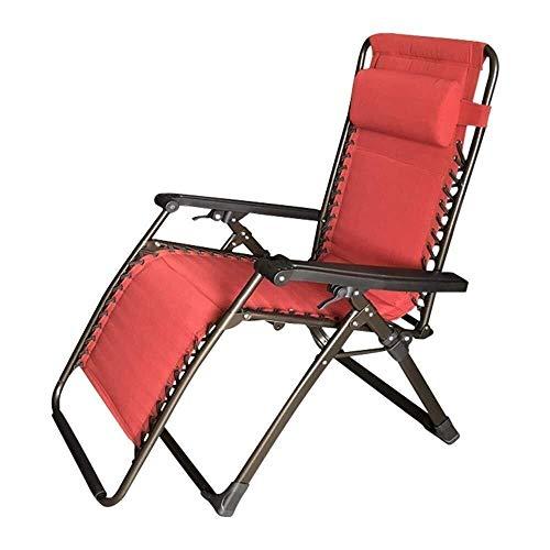 ShiSyan Camping Sillas Plegables Cubierta Silla reclinable - Balcón Salón Almuerzo Silla Plegable Descanso for Comer Silla de Playa Ocio (36,6 * 24,8 * 43,3 Pulgadas) Silla al Aire Libre