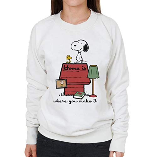 Home Is Where You Make It Snoopy Charlie Brown Women