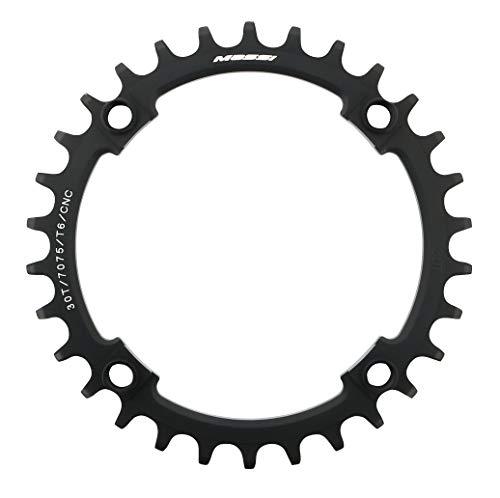 Massi 32T Narrow-Wide Comp. Shimano Platos, platros Bicicleta,Ciclismo,32 Dientes, Negro, Talla Única