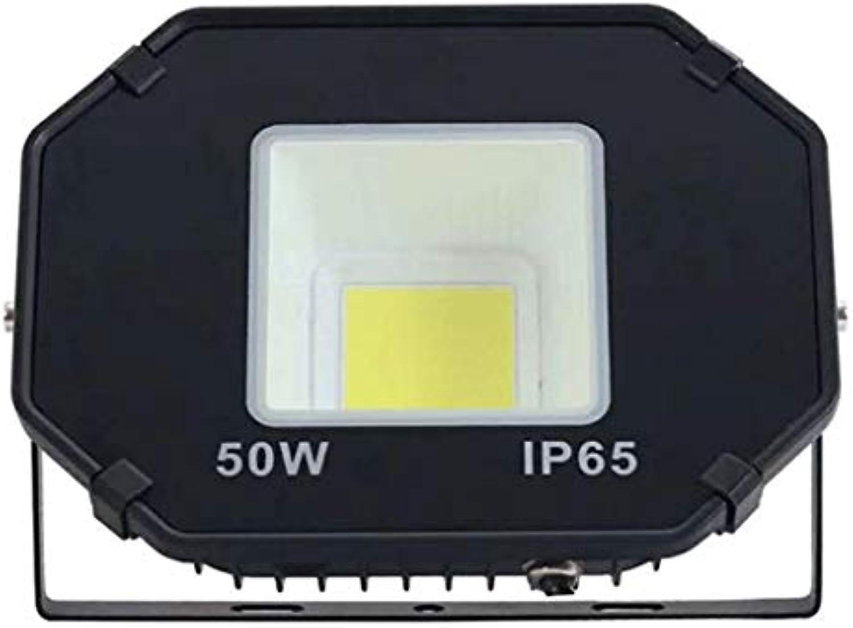 LED Flutlicht-Strahler 40000LM Auen Und Innen Baustellenstrahler IP66 Wasserdicht Für Weihnachten Garten Dekoration (Farbe   Weies Licht-50w)