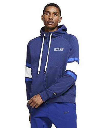 Nike Herren Air Sweatshirt, Blau/Weiß/Königsblau/Weiß, 2XL