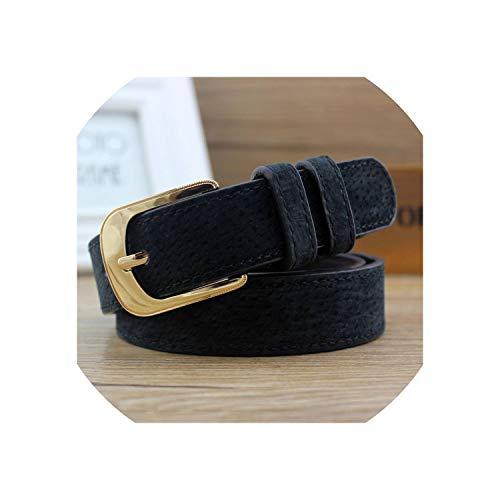 Women'S Belt Pin Gesp Breedte Riem Women'S Imitatie Leer Casual Cowboy Broek Jurk Riem/one_color-