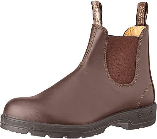BLUNDSTONE Classic Comfort 585, Unisex-Erwachsene Chelsea Boots, Braun (Rustic Brown), 44 EU (10 UK)