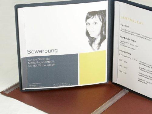 35 Blatt quadratisches, weißes 100g Premium Papier in 21cm x 21 cm // Bewerbungspapier DIN A4 A5 Sondergröße auffällig zweiteilig Luxus Bewerbung Bewerben 100g/m² 210 mm