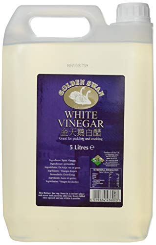Golden Swan White Vinegar for Pickling, Marinating & Cooking - 5 Litre