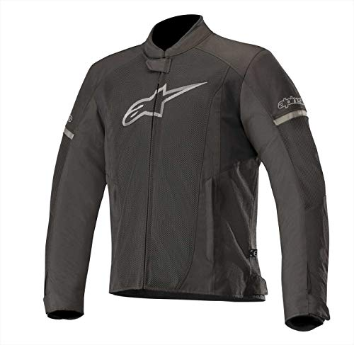 Alpinestars Men's T-Faster Air Motorcycle Jacket, Black/Black, Small
