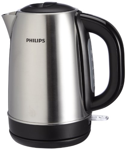 Philips HD9320/20 Hervidor agua, 2200 W, 1.7 l, 1.7 litros, Acero inoxidable