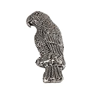Creative Pewter Designs – Bird Lapel Pin, Brooch, Handmade in The USA – Available in Pewter, Copper, 22k Gold & Hand Painted