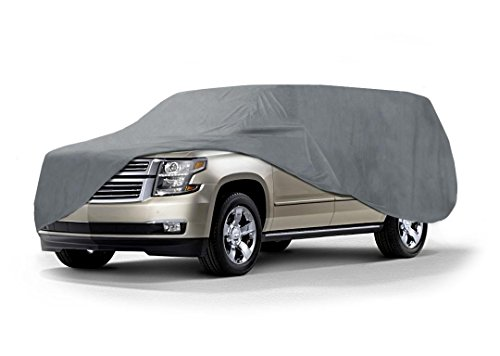 Coverking – Funda para coches, de ajuste universal, Triguard, para exteriores (gris), Suburban, Excursion