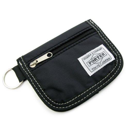 ポーター(porter)・リーフ・コイン&カードケース(ブラック)
