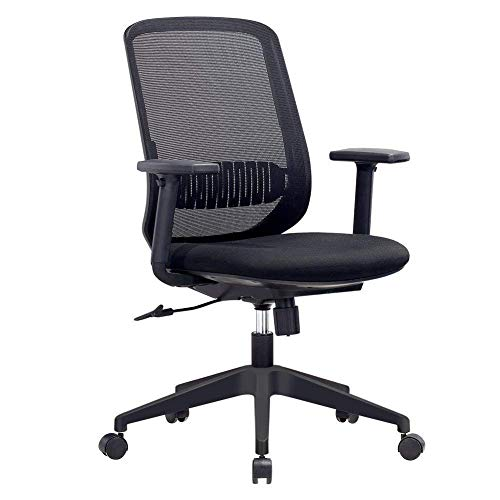 IntimaTe WM Heart Home Office Chair-Mesh Mid-Back Swivel...