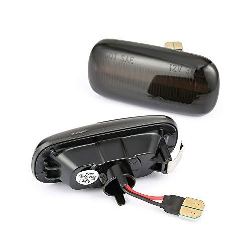 GZLMMY - Coppia di lampadine a LED per indicatori di direzione e indicatori di direzione sequenziali, compatibili con A4 S4 B6 RS4 B7 TT 8J Roadster A3 8P A6 S6 Allroad C5 A8 D3-1
