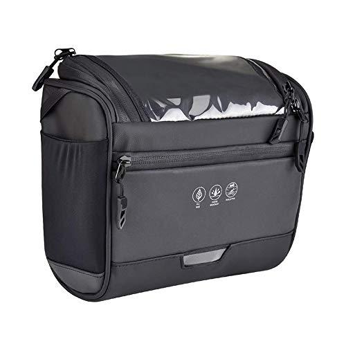 IWILCS Fahrrad Lenkertasche 3.5L Fahrradtsche Fahrrad Lenkertasche Wasserdicht Fahrradtasche mit Abenehmbaren Schultergurt zur Befestigung am Lenker Autotasche