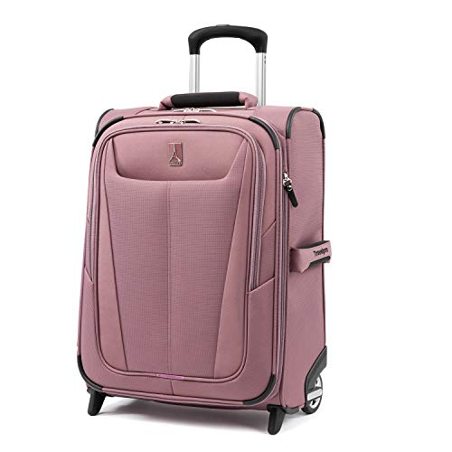 Travelpro Maxlite 5-Softside Lightweight Expandable Upright Luggage, Dusty Rose, Carry-On 20-Inch