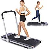 FUNMILY 2 in 1 Folding Treadmill for Home with Bluetooth Speakers, Remote Control, LCD Display,...