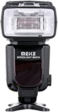 Meike MK910 i-TTL HSS 1/8000s HSS LCD Display Speedlite Master/Slave Flash Compatible with Nikon D3S D50 D60 D80 D200 D300 D500 D700 D750 D3000 D3100 D3300 D3400 D3500 D5000 and All Other DSLR Cameras