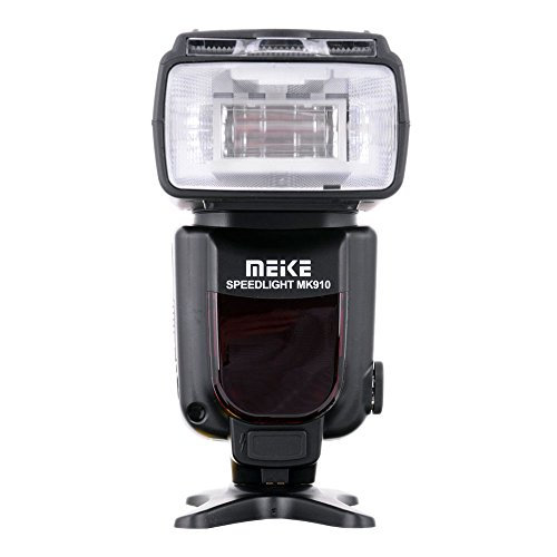 Meike MK910 i-TTL HSS 1/8000s HSS LCD Display Speedlite Master/Slave Flash for Nikon D3S D50 D60 D80 D200 D300 D500 D700 D750 D3000 D3100 D3300 D3400 D3500 D5000 and All Other Nikon DSLR Cameras
