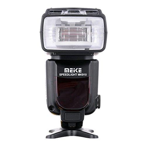 Meike MK910 i-TTL Speedlite HSS Master - Flash esterno per fotocamera Nikon SB900, D800, D810, D7000, D5300, D5200, D5100, D3200, D3100, D3000