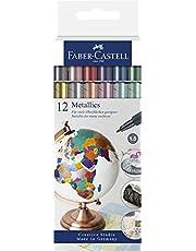 Faber-Castell Metallics Marker 12 Stuk Kartonnen Portemonnee