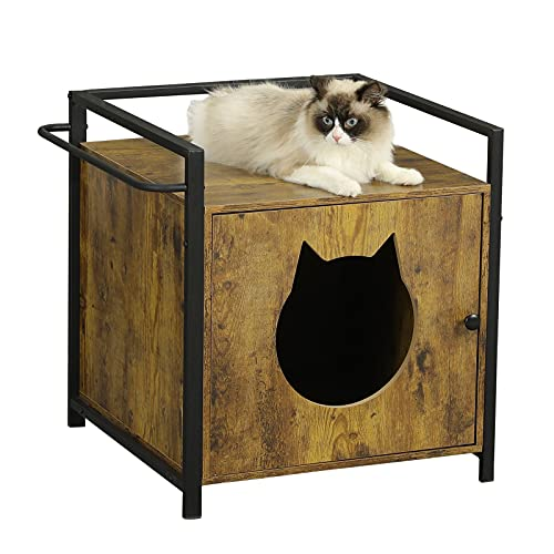 MSmask Maison pour Chat ou litière pour Chat, Grande Maison...