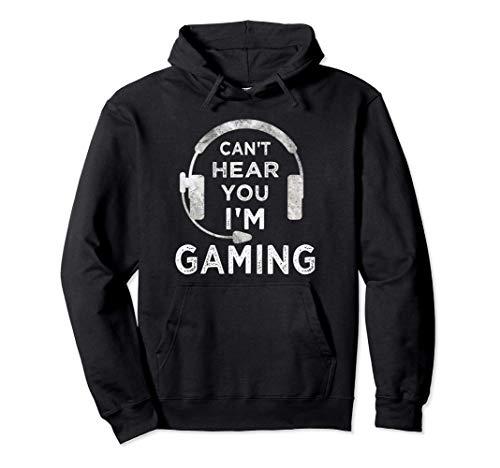 Lustiges Gamer Spruch Videospiele Zocker Jungs Jungen Teens Pullover Hoodie