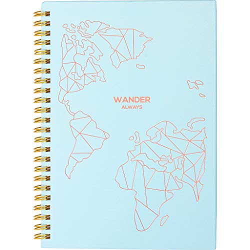 Product Image 1: Travel Planner Journal for Women– Travel Notebook and Vacation Journal for 6 Trips– A Great Travel Gift – Undated, 6 Trips