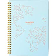 Travel Planner Journal for Women– Travel Notebook and Vacation Journal for 6 Trips– A Great Travel Gift - Undated, 6 Trips