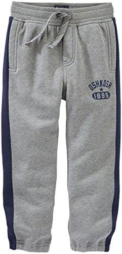 OshKosh B' Gosh - Pantalón - para bebé niño Gris Charcoal Gray