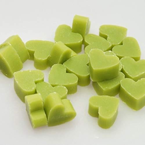 Savon coeurs mini mini - Savon au lait de brebis Florex LEMONGRAS - 50 pièces - faveur de mariage
