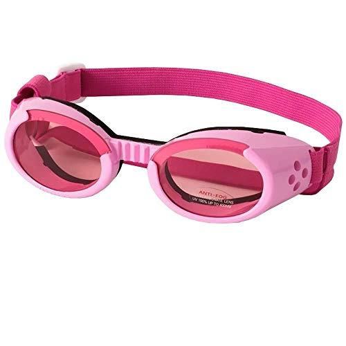 Doggles ILS X-Small Rahmen mit rosa Gläsern