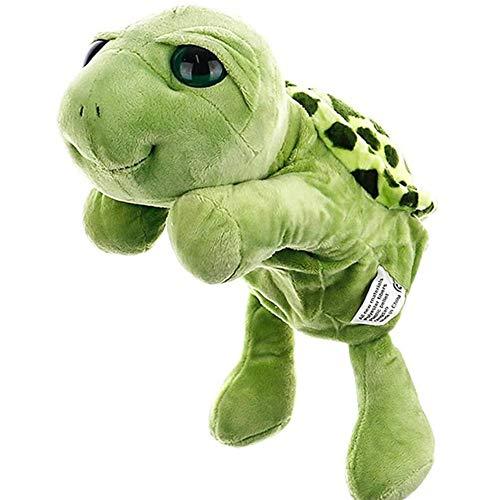 WANGIRL Handpuppe 1 Pc Baby Kinder Kind Schildkröte Tier Finger Puppe Kind Kid Spielzeug Plüsch Spielzeug Kinder Funy Spielzeug Geschichte Muppet