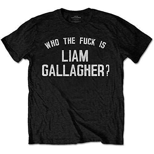 FLYAWAY Liam Gallagher Who The FK Is Oasis Mens T-Shirt Ly