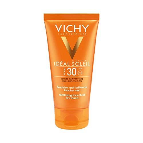 VICHY IDEAL SOLEIL Emulsión Acabado Seco spf 30 50 ml