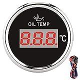Yctze jauge de température d'huile numérique universelle 52mm 50-150...