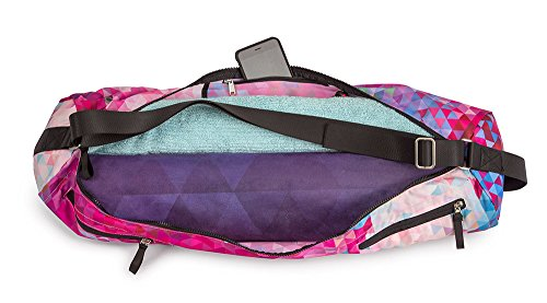 YogaDesignLab(ヨガデザインラボ)ヨガマットバッグヨガマットケースポケット付き/TribecaSand