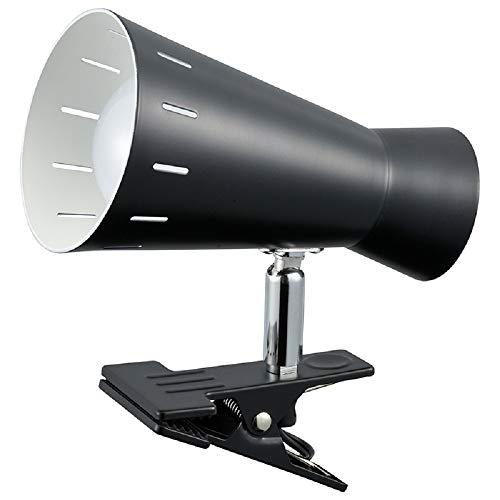 オーム電機 LEDクリップライト(昼光色/650Lm/ブラック) LTC-L1D8AW-K
