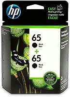 HP 65   2 Ink Cartridges   Black   N9K02AN