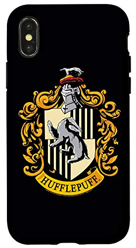 iPhone X/XS Harry Potter Hufflepuff House Crest Case