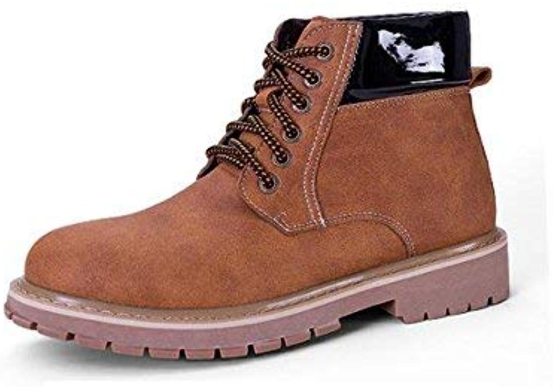 Oudan Lace Herren Wasserdichte England Wind Stiefel Stiefel Stiefel Winter Casual Klassiker, 40 (Farbe : -, Größe : -) B07KD7M82J  a9bf73