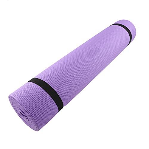 Alfombrilla antideslizante de espuma cómoda para yoga