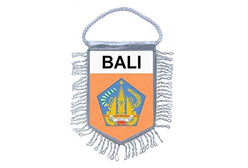 Akachafactory Mini banner vlag pennant venster spiegel auto's land banner bali Indonesië