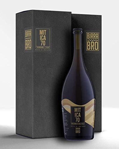 Birra Bro Mitica 70 - birra artigianale italiana - birra regalo - birra rossa - birra magnum 1,5 L.