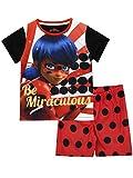 Miraculous Ladybug Girls' Lady Bug Pajamas Size 10 Red